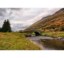 Butterbridge Glen Kinglas Scotland  Photographic Print