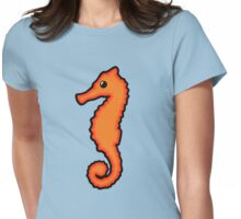 Cute Seahorse Womens Fitted T-Shirt