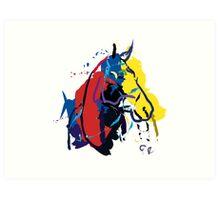 Horse - Zam  Art Print