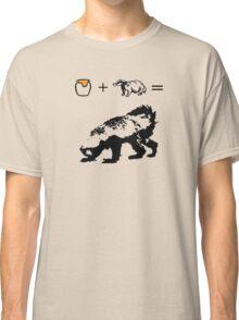 Honey + Badger = Honey Badger Classic T-Shirt