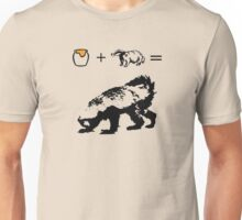 Honey + Badger = Honey Badger Unisex T-Shirt
