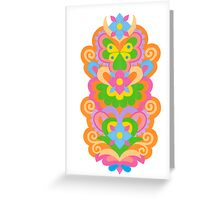 ORANGE PARTY Greeting Card