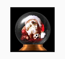 Christmas Teddy Snow Globe Unisex T-Shirt