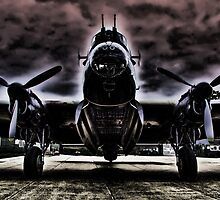 Ghostly Just Jane Bomb Doors Open - HDR by Colin  Williams Photography