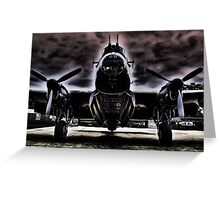 Ghostly Just Jane Bomb Doors Open - HDR Greeting Card