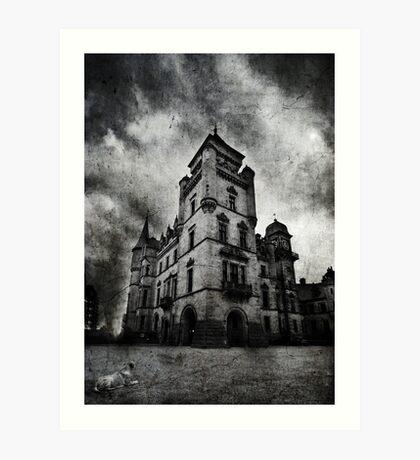 Haunted 2 Art Print