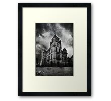Haunted 2 Framed Print