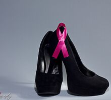 """Breast cancer awareness """"Black heels and Ribbon"""" by Bniphotography"""