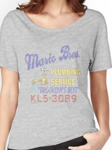 Mario Brothers Plumbing Women's Relaxed Fit T-Shirt