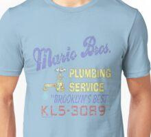 Mario Brothers Plumbing Unisex T-Shirt