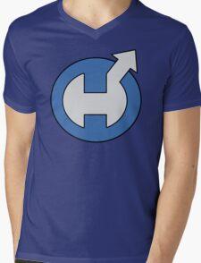 Captain Hero Mens V-Neck T-Shirt