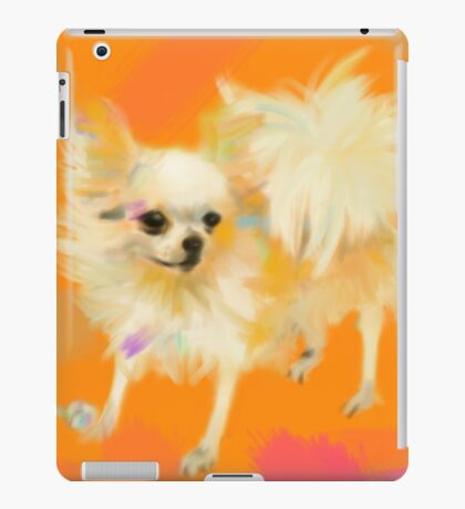 Dog Chihuahua Orange iPad Case/Skin