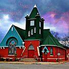 Newton Church #3 by Sheryl Gerhard