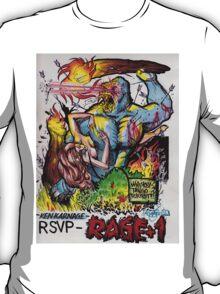 """Ken Karnage's """"Rage+1"""" T-Shirt"""