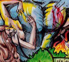"""Ken Karnage's """"Rage+1"""" Sticker"""