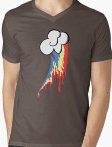 Running Rainbow Mens V-Neck T-Shirt