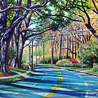 'Entering Myers Park' by Jerry Kirk