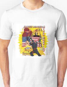 James Madison - Ninja Warrior! t-shirt T-Shirt