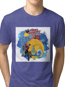 Teddy Roosevelt - Space Assassin! t-shirt Tri-blend T-Shirt