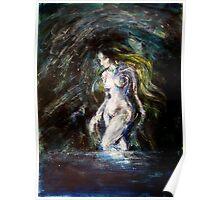 Venus night swimming Poster