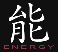 Chinese Symbol for Energy T-Shirt by AsianT-Shirts