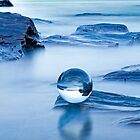 Blue crystal II by Frank Olsen