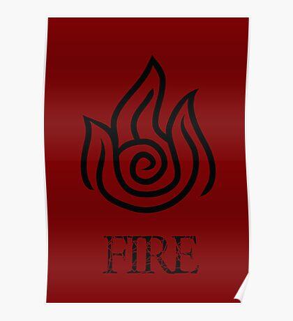 Fire Element Poster