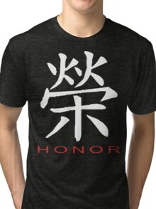 Chinese Symbol for Honor T-Shirt Tri-blend T-Shirt