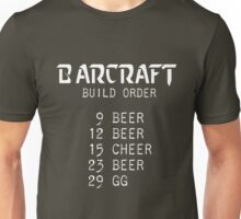 Barcraft Build Order Unisex T-Shirt
