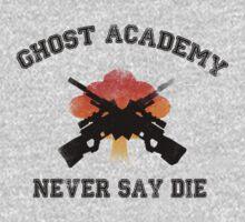 Ghost Academy - Never Say Die by stimpackapparel