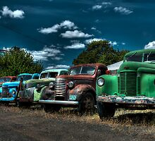 Old trucks by Bob Melgar