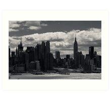 Gotham Skyline Art Print