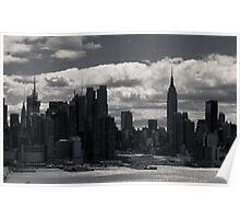 Gotham Skyline Poster