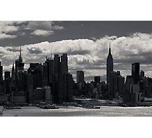 Gotham Skyline Photographic Print