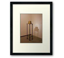 Quatre figurines sur base - Alberto Giacometti Framed Print