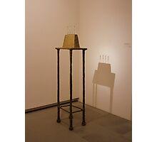 Quatre figurines sur base - Alberto Giacometti Photographic Print