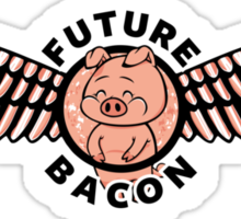 Future Bacon Sticker