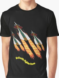 A Galactic Fighter Force on Patrol T-shirt design Graphic T-Shirt