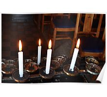 Four Candles Poster
