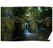 Mounts Bay Road Waterfall Poster
