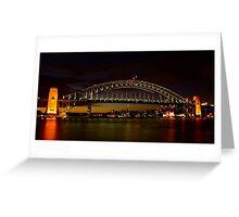 Dusk in Sydney. Greeting Card