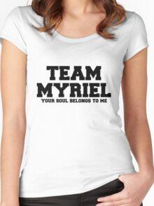 Team Bishop Myriel Women's Fitted Scoop T-Shirt