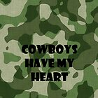 Cowboys Have My Heart by Trevor Simoes