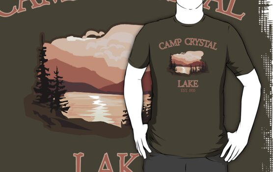 Camp Crystal Lake by waywardtees