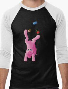 Juggling Pinkie Pie Men's Baseball ¾ T-Shirt