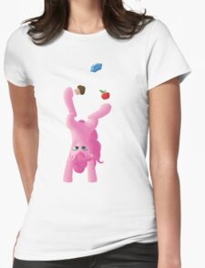 Juggling Pinkie Pie Womens Fitted T-Shirt