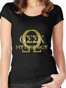 Geek Mythology Women's Fitted Scoop T-Shirt