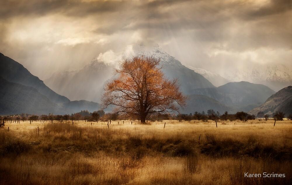 Golden Tree by Karen Scrimes
