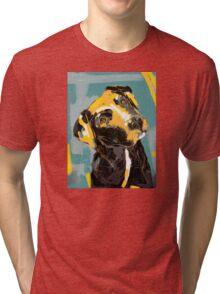 Dog Boris Tri-blend T-Shirt