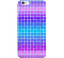 Pink and Blue Weave iPhone Case/Skin